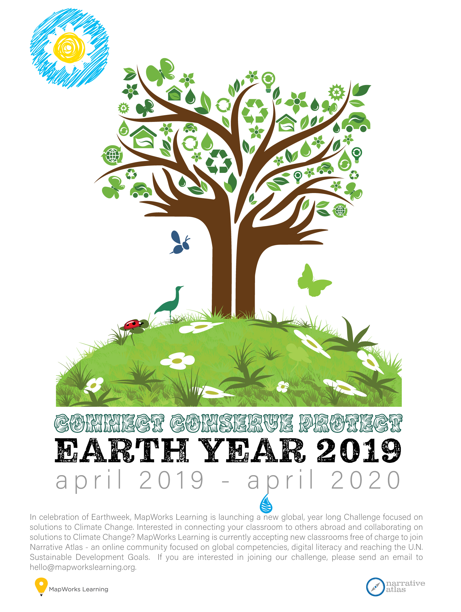 MapWorks Learning - EARTH YEAR Campaign